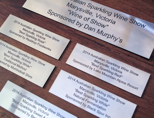 Award Plaques – Australian Wine Awards