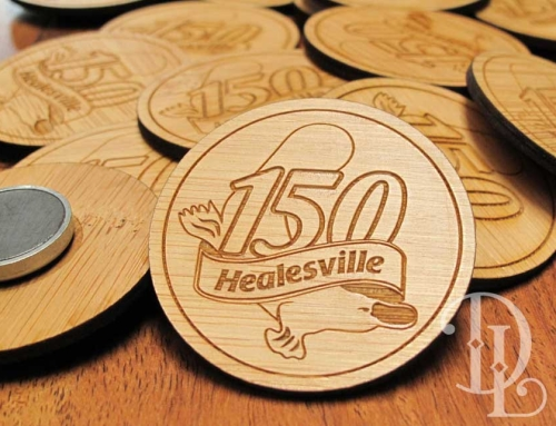 Healesville 150 Years Celebration Fridge Magnets