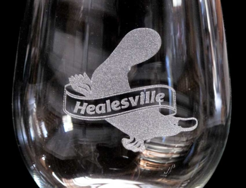 Healesville 150 Years Celebration Glassware